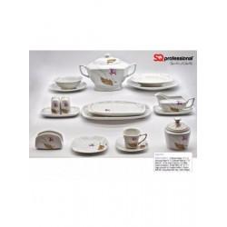 86 Pieces Luxury Porcelain...