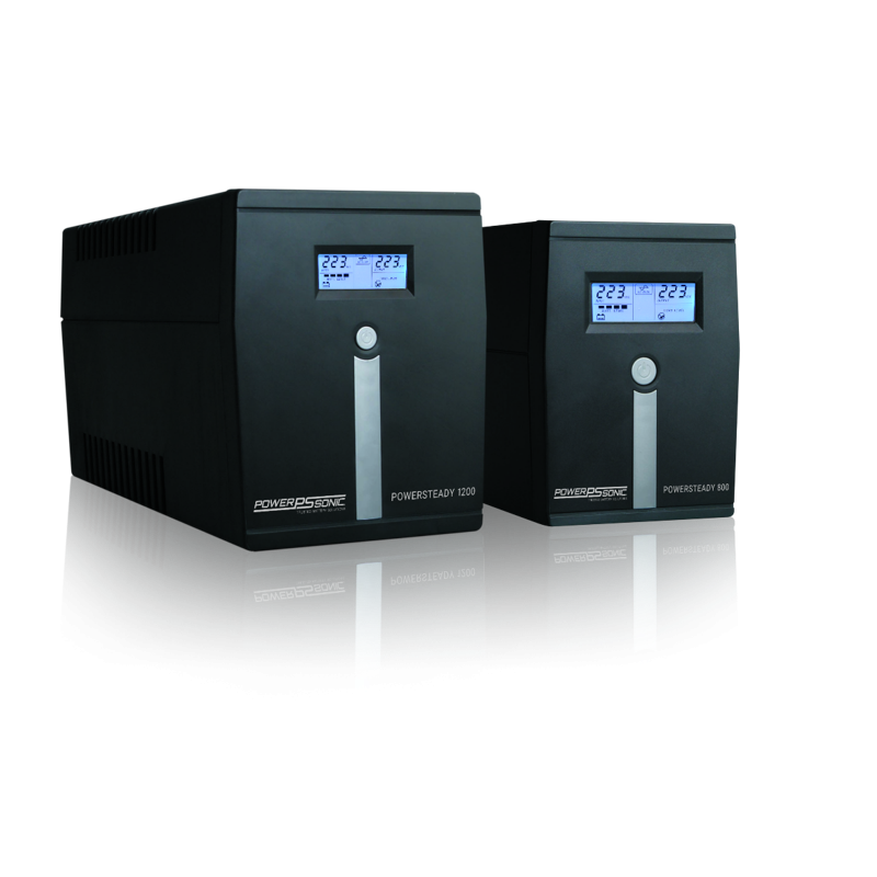 PowerSteady- Reliable Interactive UPS Solutions-800VA