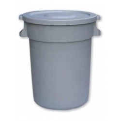 80 Ltr Container & Flat Lid