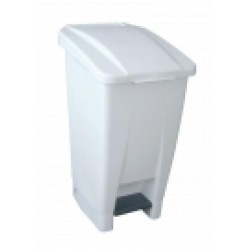 60 Litre waste bin white...