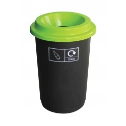 50L Recycling Bin Black...