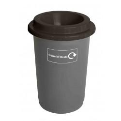 50l Recycling Bin Base Grey
