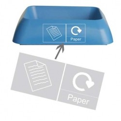 RECYCLING PAPER GRAPHIC