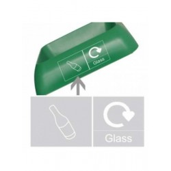 Recycling Glass Graphic
