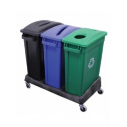 87l Containers in Black,...