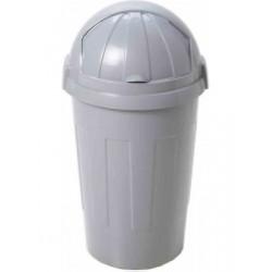 50L plastic roll top bin in...